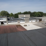 Blue Roofing Systems in Abercynon 6