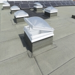 Blue Roofing Systems in Caerphilly 10